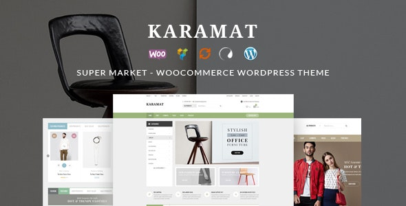 KaraMat - Supermarket WooCommerce WordPress Theme 1