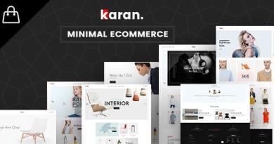 Karan - Minimal Fashion Responsive WordPress Theme 2