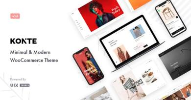 Konte - Minimal & Modern WooCommerce WordPress Theme 3