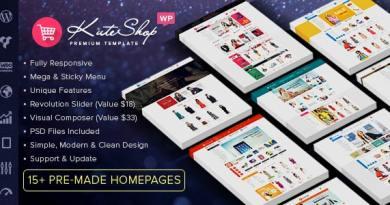 KuteShop - Multipurpose WooCommerce Theme (RTL Supported) 8