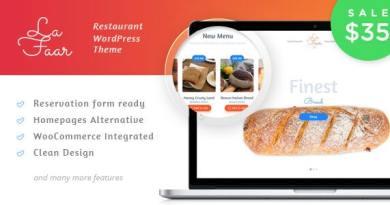 Lafaar - Restaurant & Food Menus WooCommerce Theme 18