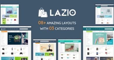 Lazio - Toys and Game Accessories WordPress Theme 4