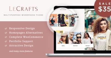 LeCrafts - WooCommerce Marketplace Themes 5
