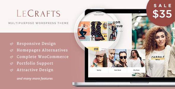 LeCrafts - WooCommerce Marketplace Themes 2