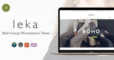 Leka - Amazing WooCommerce Theme 2
