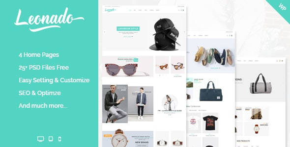 Leonado - Multi-Concepts WooCommerce WordPress Theme 1