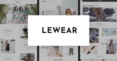 Lewear - Multipurpose WooCommerce Theme 4
