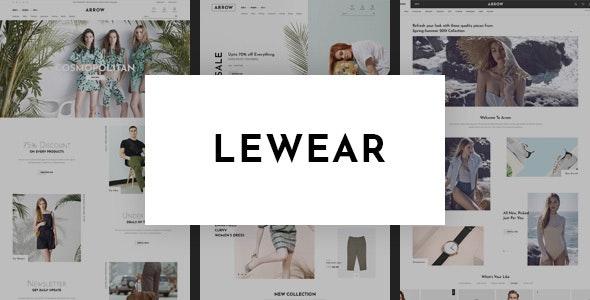 Lewear - Multipurpose WooCommerce Theme 2