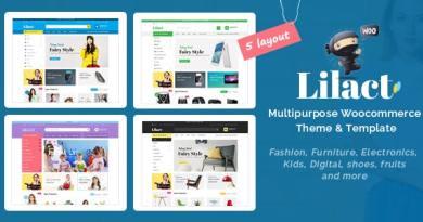 Lilac - Fashion Responsive WooCommerce WordPress Theme 3