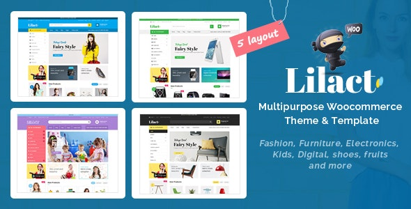 Lilac - Fashion Responsive WooCommerce WordPress Theme 1