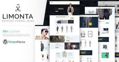Limonta - Modern Fashion WooCommerce WordPress Theme 2