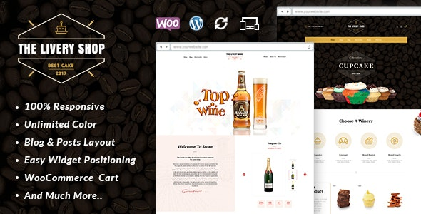 Livery Shop - Multipurpose WooCommerce Theme 1