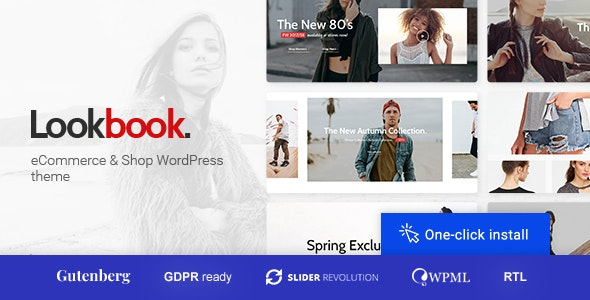 Lookbook - Fashion Store & Clothing Woocommerce Theme 1