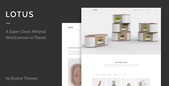 Lotus - Modern Minimal WordPress WooCommerce Theme 1