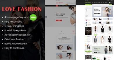 Love Fashion - Responsive Multipurpose WordPress Theme 3