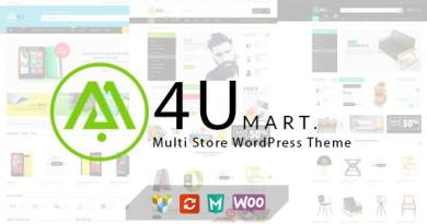 M4U - Multi Store Responsive WordPress Theme 2