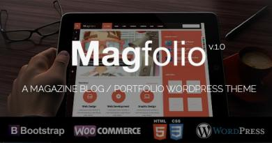 Magfolio - WP WooCommerce Portfolio Blog Theme 4