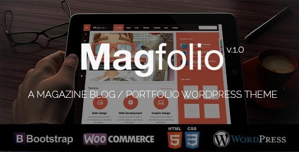 Magfolio - WP WooCommerce Portfolio Blog Theme 7