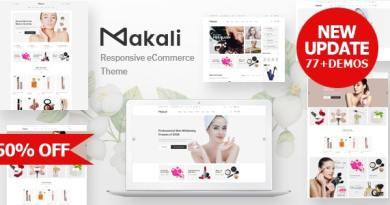 Makali - Multipurpose Theme for WooCommerce WordPress 2