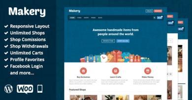 Makery - Marketplace WordPress Theme 2