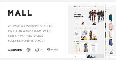 Mall — Clean Multi-Purpose WooCommerce Responsive WordPress Theme 3