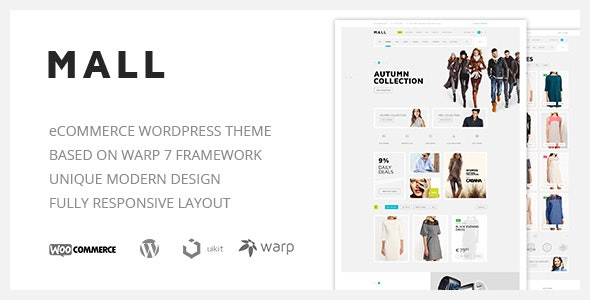 Mall — Clean Multi-Purpose WooCommerce Responsive WordPress Theme 4