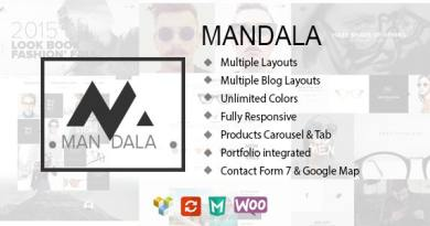 Mandala - Responsive Ecommerce WordPress Theme 2