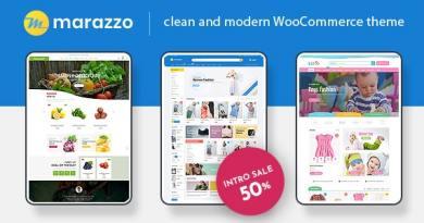 Marazzo - MultiPurpose WooCommerce WordPress Theme 4