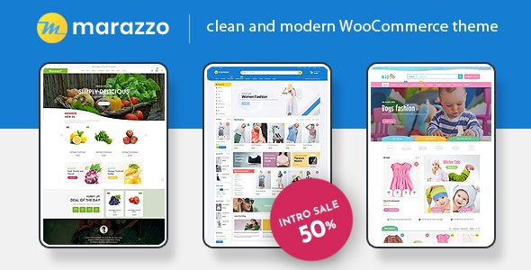 Marazzo - MultiPurpose WooCommerce WordPress Theme 1