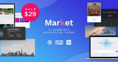 Market - Online Store WooCommerce WordPress Theme 3