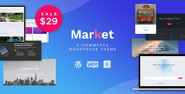 Market - Online Store WooCommerce WordPress Theme 9