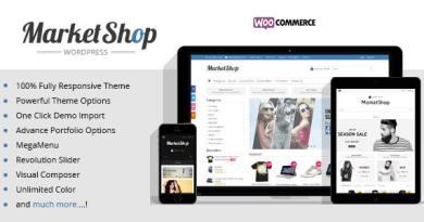 Marketshop | Ultimate WooCommerce Theme 3