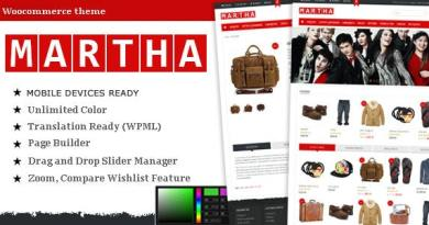 Martha - Woocommerce WordPress Theme 3