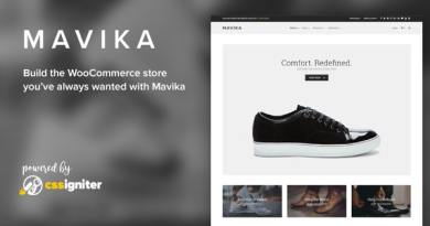 Mavika - WooCommerce Shop Theme 2