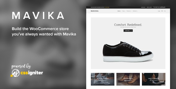 Mavika - WooCommerce Shop Theme 3