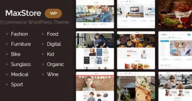 MaxStore - Fashion, Food, Furniture, Medical, Sport, Marketplace WooCommerce Theme 5
