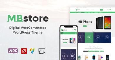 MBStore - Digital WooCommerce WordPress Theme 3