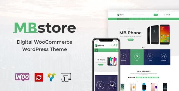 MBStore - Digital WooCommerce WordPress Theme 1