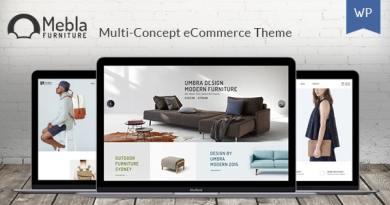 Mebla - Multi Concept WooCommerce WordPress Theme 3