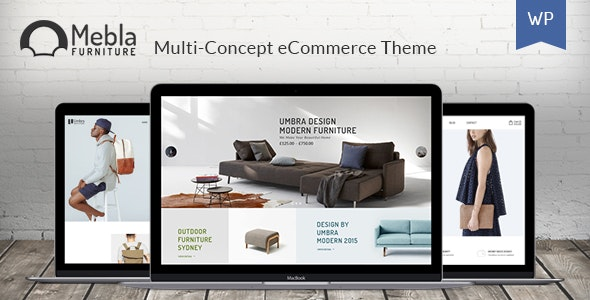 Mebla - Multi Concept WooCommerce WordPress Theme 1