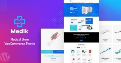 Medik - Medical WooCommerce Theme 4