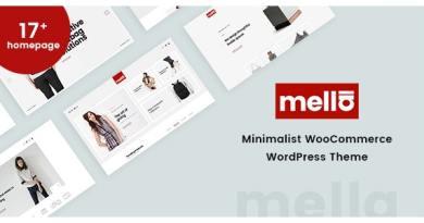 Mella - Minimalist Ajax WooCommerce WordPress Theme 8