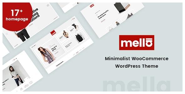Mella - Minimalist Ajax WooCommerce WordPress Theme 1