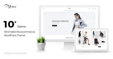 Merci - Minimalist Woocommerce WordPress Theme 4