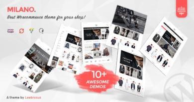 Milano - Awesome Fashion Responsive WooCommerce Theme 3
