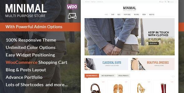 Minimal Multi Purpose - WooCommerce Theme 18