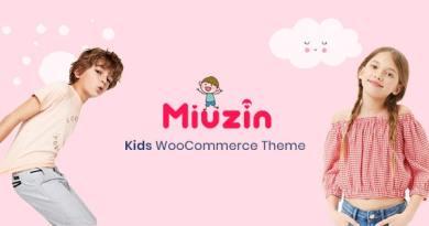 Miuzin - Kids WooCommerce WordPress Theme 3