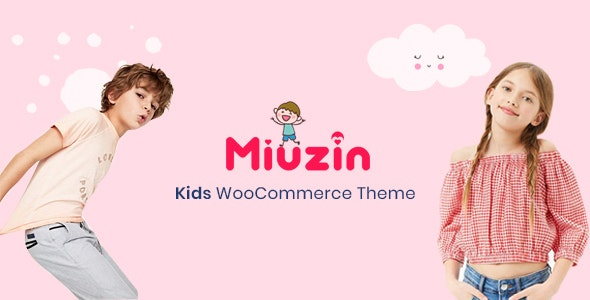 Miuzin - Kids WooCommerce WordPress Theme 1