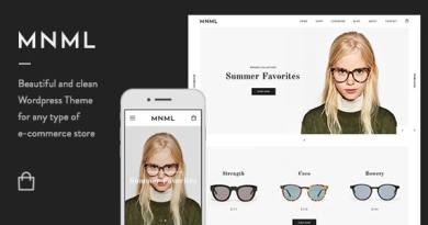 Mnml - Minimal Responsive WooCommerce Theme 3