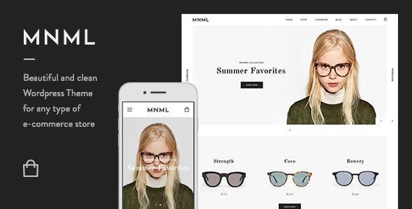 Mnml - Minimal Responsive WooCommerce Theme 21